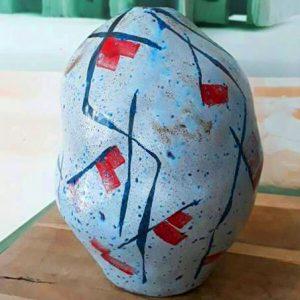 Bình Hoa Gốm Nghệ Thuật Arreguin
