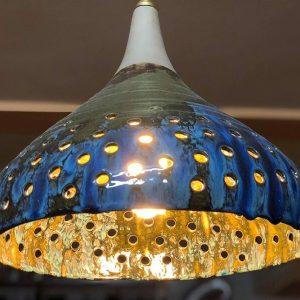 Chao đèn trần gốm nghệ thuật Shining Sky